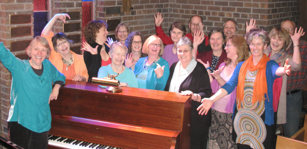 Resonance, the choir of the Unitarian Fellowship of Peterborough